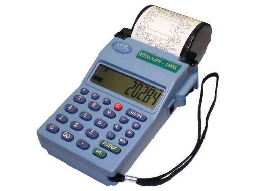Онлайн-касса МЕРКУРИЙ-180Ф (ФН-1,GSM, Wi-Fi, АКБ)