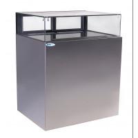 Витрина UNIS Cube Jewelry 1000 INOX