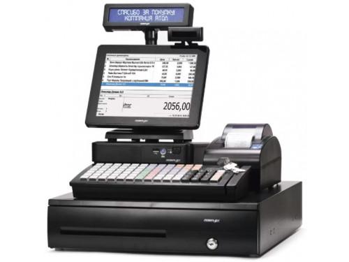 """POS-система ForPOSt ЕГАИС Супермаркет 10"""" черная [АТОЛ 55Ф, Frontol Торговля ЕГАИС, POS PC, КВ, ДП, ДЯ, MSR123, 2D сканер Opticon M10]"""