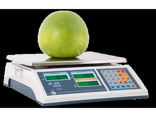 Весы торговые M-ER 323C-15.2