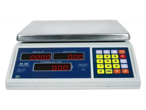 Весы торговые M-ER 324-15.2
